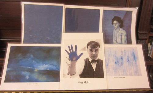 Yves Klein - and blue monochromes