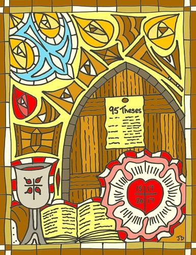 Reformation 500 bulletin