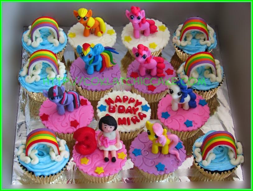 cupcake set MLP