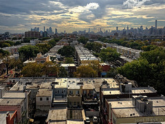 Astoria, Queens - From the Train