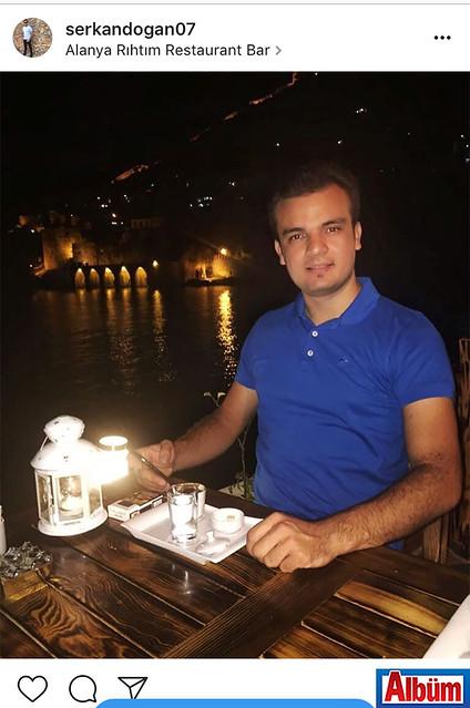 Serkan Doğan, Alanya Rıhtım Restoran'da Alanya manzarasının tadını çıkartarak keyifli bir akşam geçirdi.
