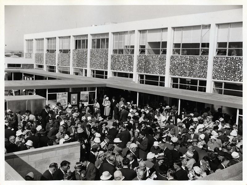 Palmerston North Railway Station opening, 1963