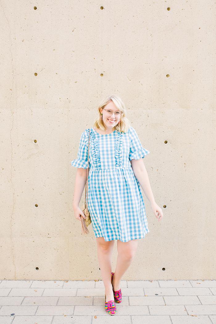 austin fashion blogger writes like a girl asos gingham dress12