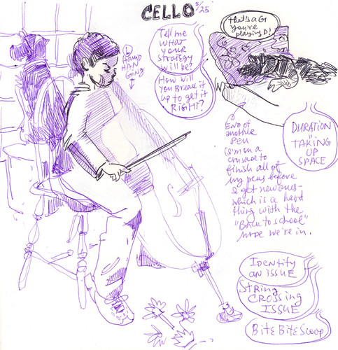 Sketchbook #108: Cello