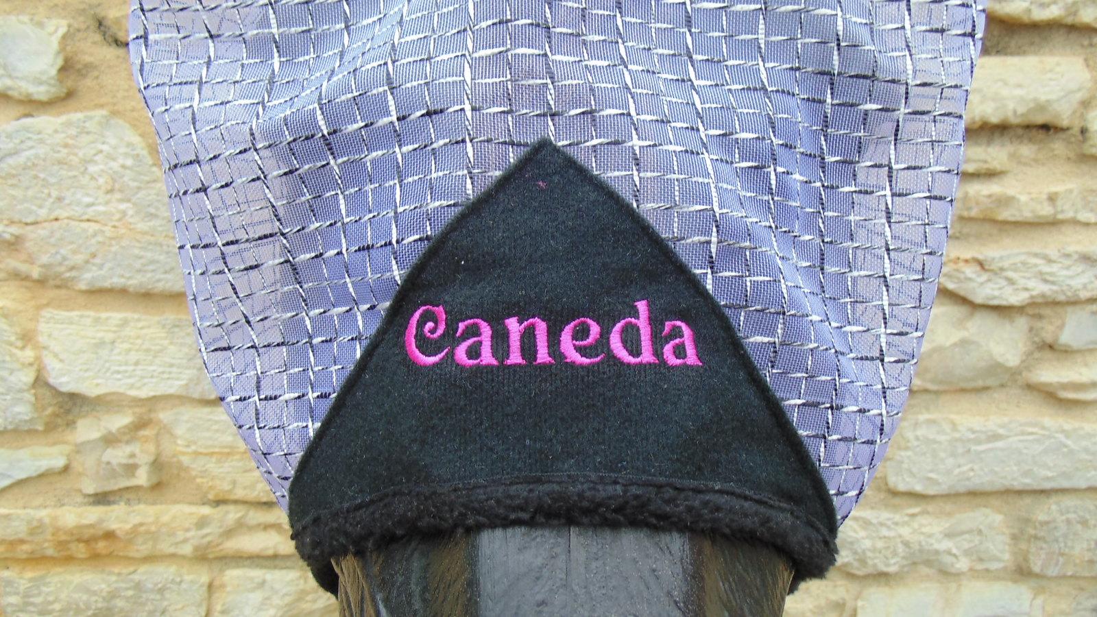 Bonnet anti-mouches pour cheval personnalisé