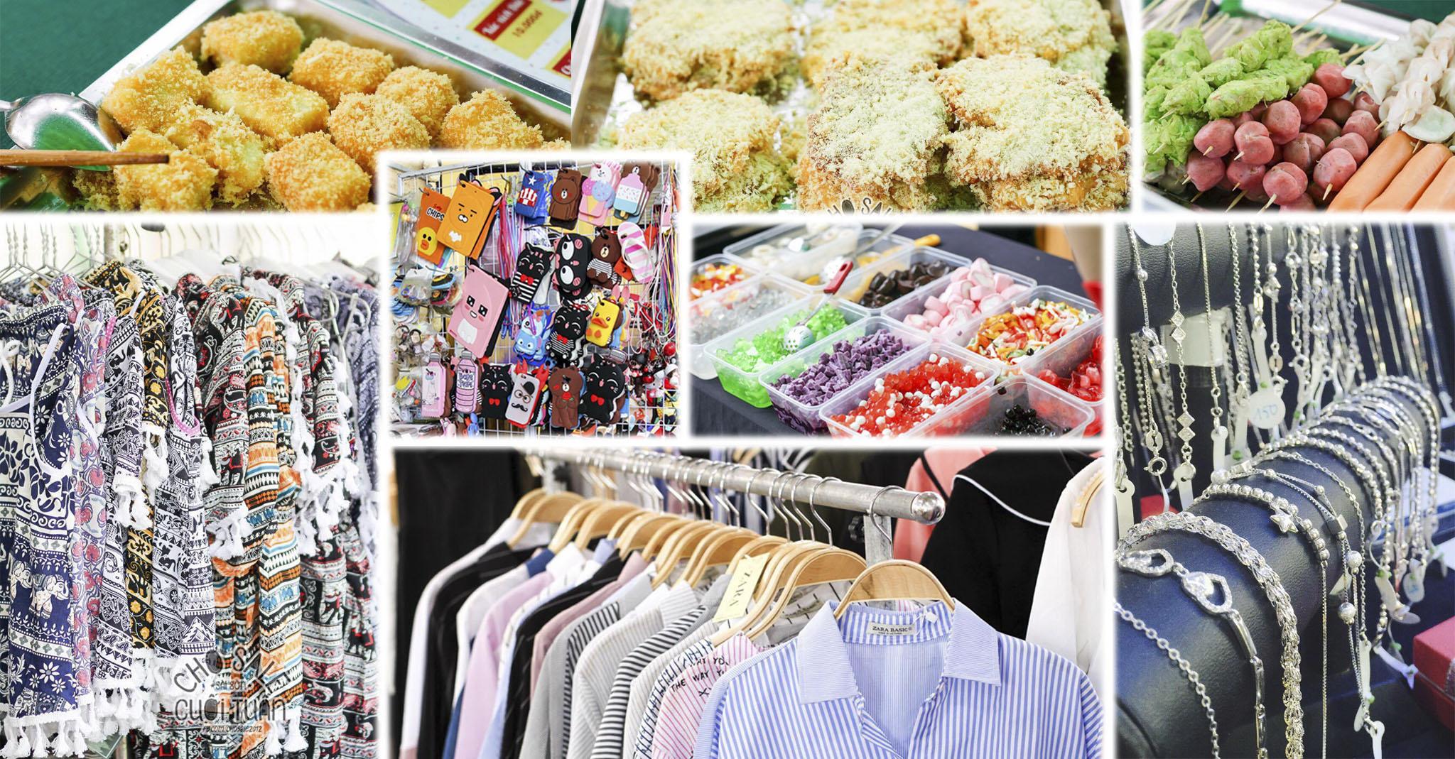 Cuối tuần này  rủ rê đi hội chợ Sale & Ẩm thực  Vũng Tàu nhé