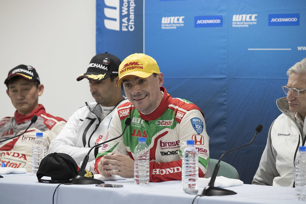 MICHELISZ Norbert (hun) Honda Civic team Castrol Honda WTC ambiance portrait conference de presse press conference  during the 2017 FIA WTCC World Touring Car Championship race at Motegi from october 27 to 29, Japan - Photo Gregory Lenormand / DPPI