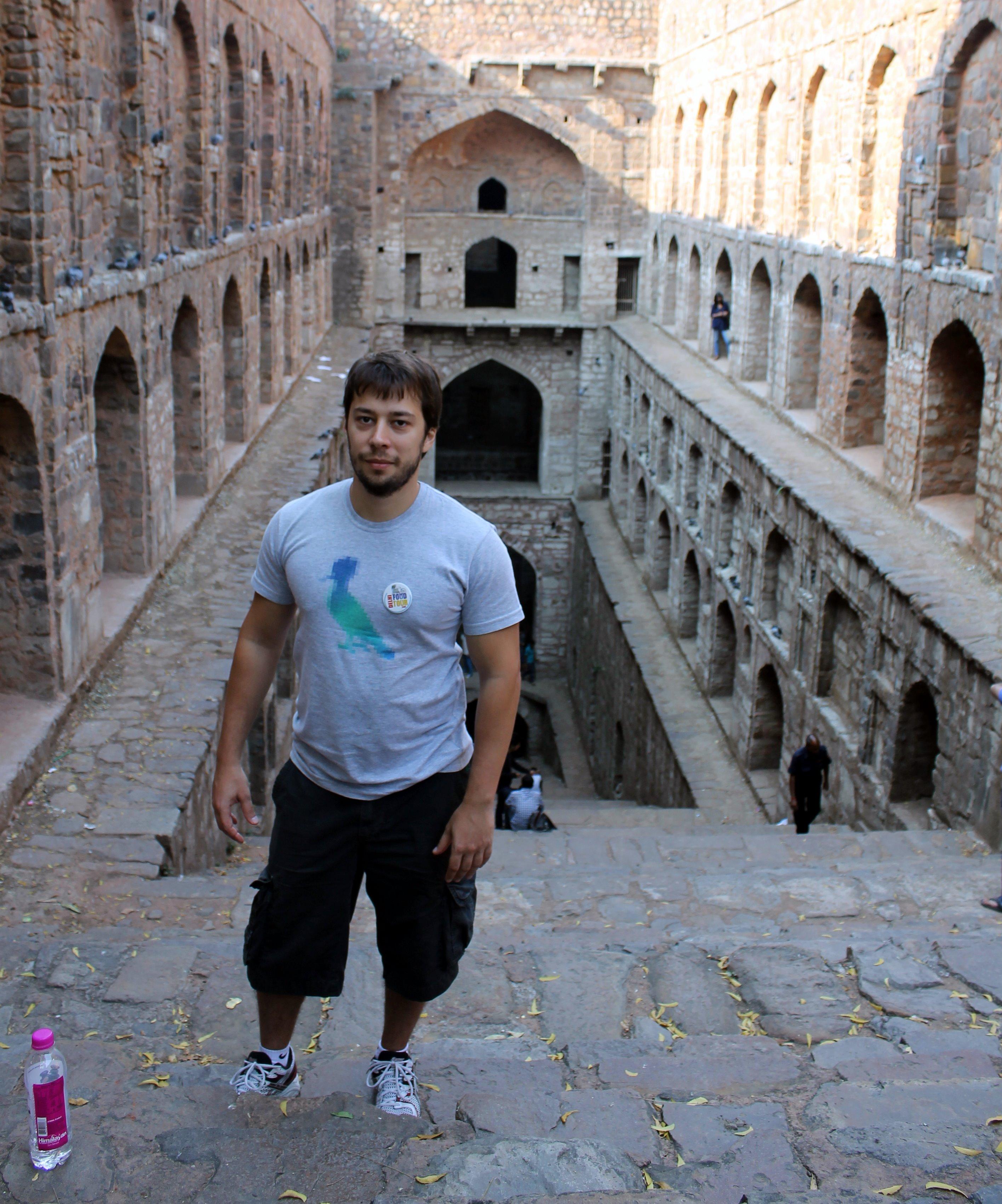 A visit to Raja Agrasen ki Baoli
