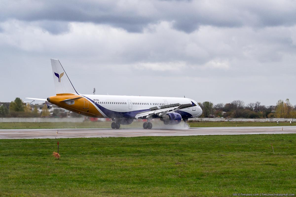 Airbus A321 впервые в Жулянах!
