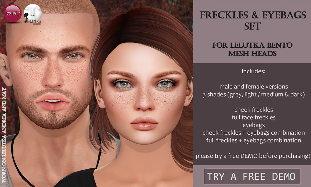 Freckles & Eyebags Set (LeLutka)