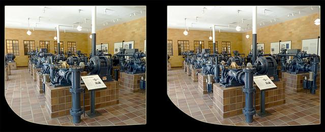 Longwood Gardens Water Pumps 2 - Crosseye 3D