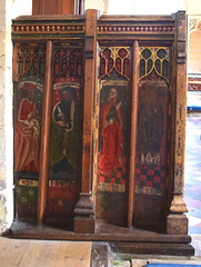 rood screen (north)