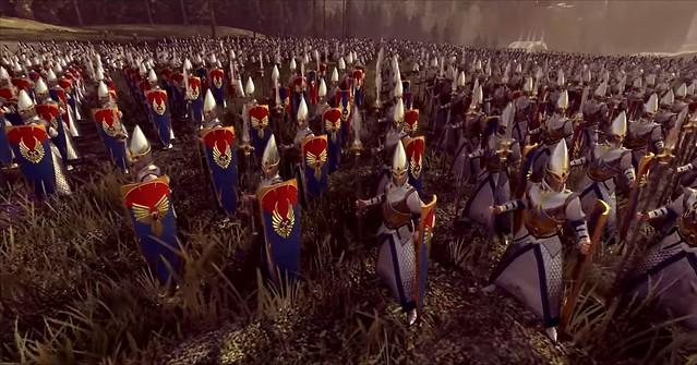 Total War Warhammer 2 - Elf Mızrakçıları