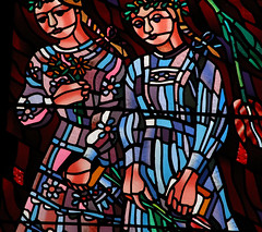 Stained Glass Ladies