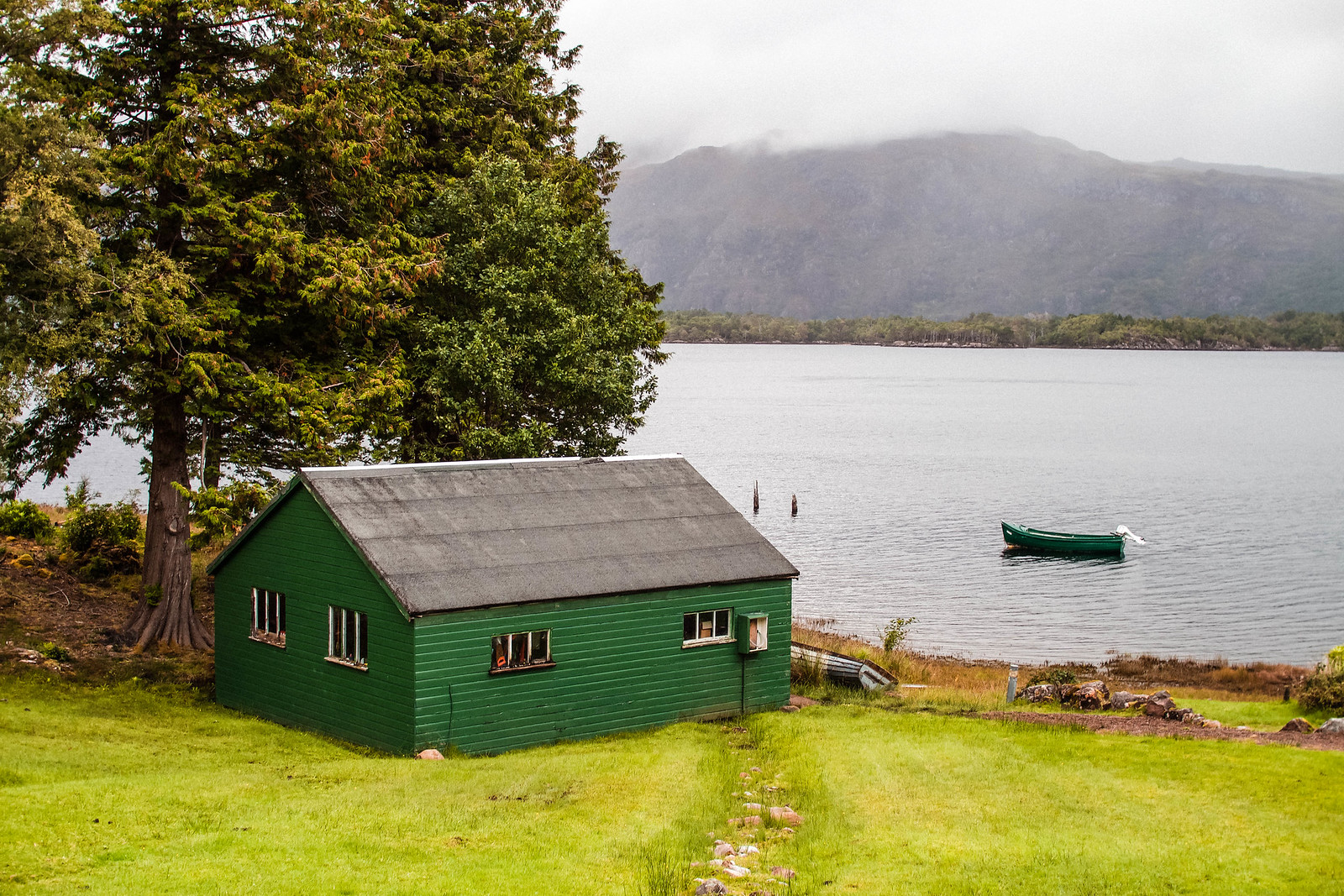 Loch Maree hotel accommodation Scotland NC500 travel blogger UK