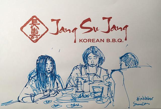 Placemat sketch Jang Su Jang