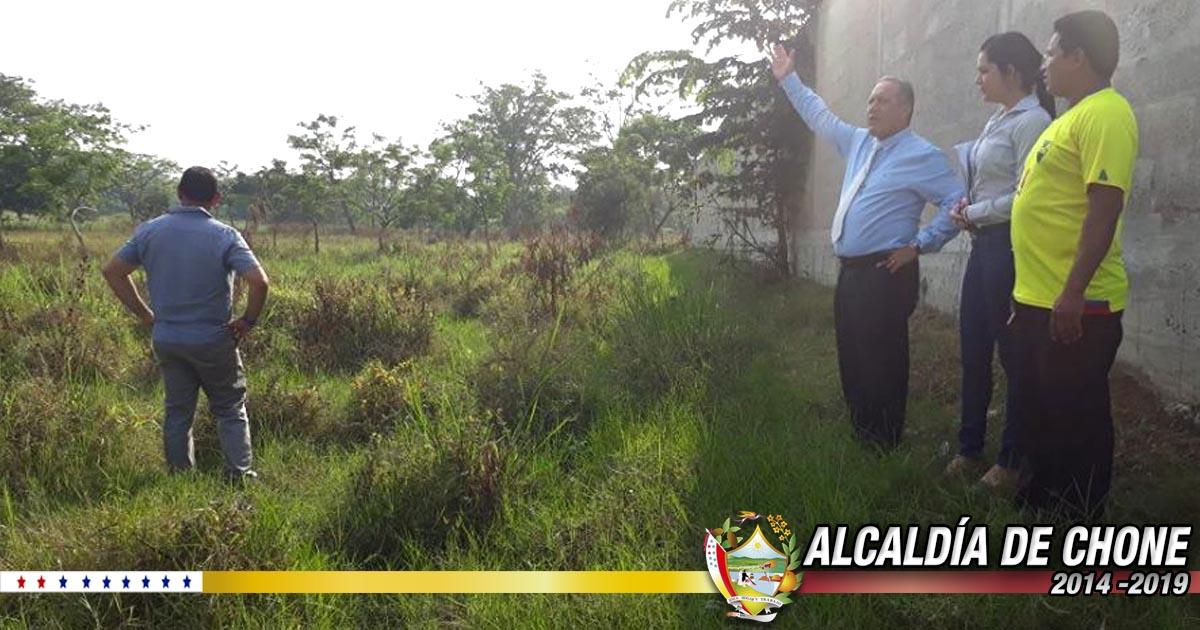 Inspeccionan predios en Cdla. Mario Loor, parroquia Santa Rita