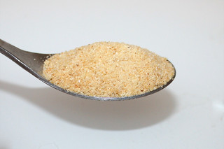11 - Zutat Knoblauchgranulat / Ingredient granulated garlic