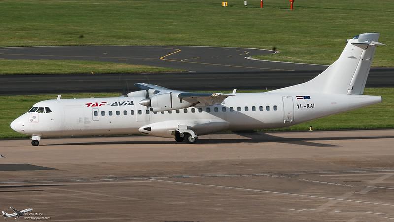 YL-RAI ATR72 RAF AVIA