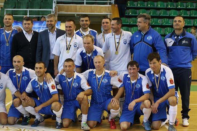 2017-10-01 Veteran's Futsal Cup «40+». День 3. Часть 1