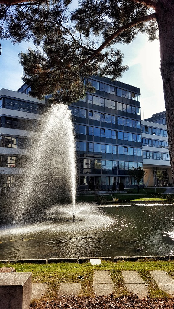 Tranquility at Business Campus Garching