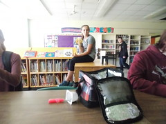 Grade 9 lunchtime