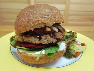 Bean and Nut Burgers
