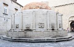 Water fountain Dubrovnik