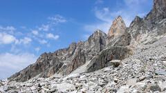 Typowy krajobraz po drodze do obozu 2.