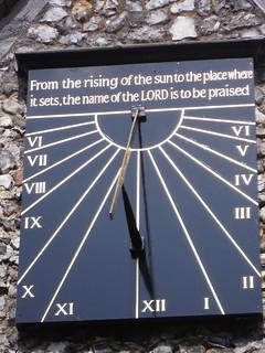 Sundial on St. Peter & St. Paul, Lynsted