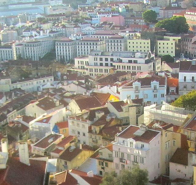 Aquí en Lisboa