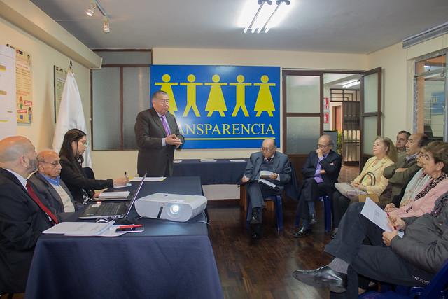 """""""Educación, Corrupción y Valores: Desafíos de una sociedad responsable y un gobierno transparente"""""""