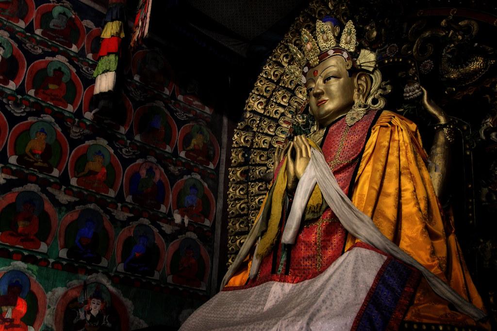 A Bodhisattva At Erdene Zuu, Karakorum, Mongolia