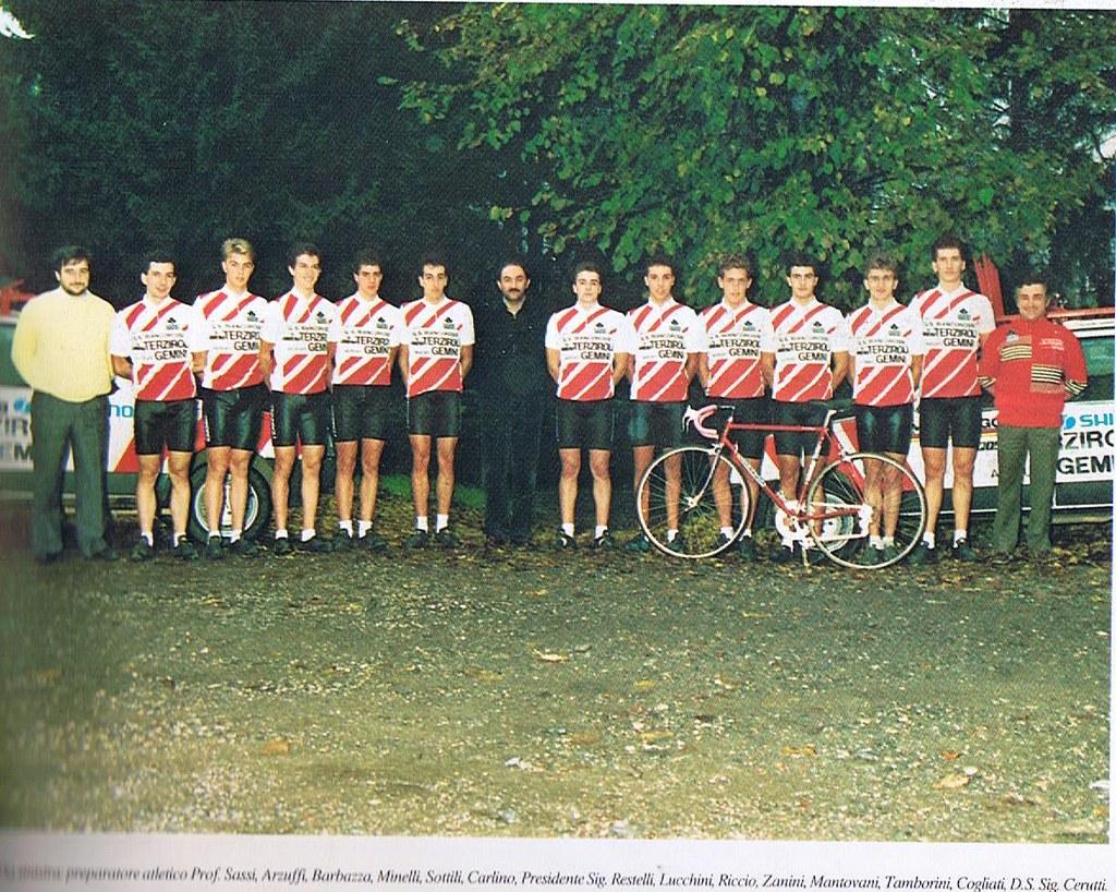 G.S. Biancorossi - Terziroli - Gemini 1988 - foto inviata da Stefano Barbazza