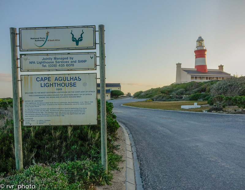 Lighthouse Cape Agulhas - Sudáfrica
