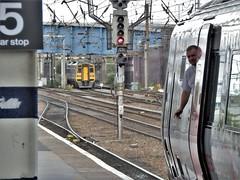 Doncaster Station Departure.