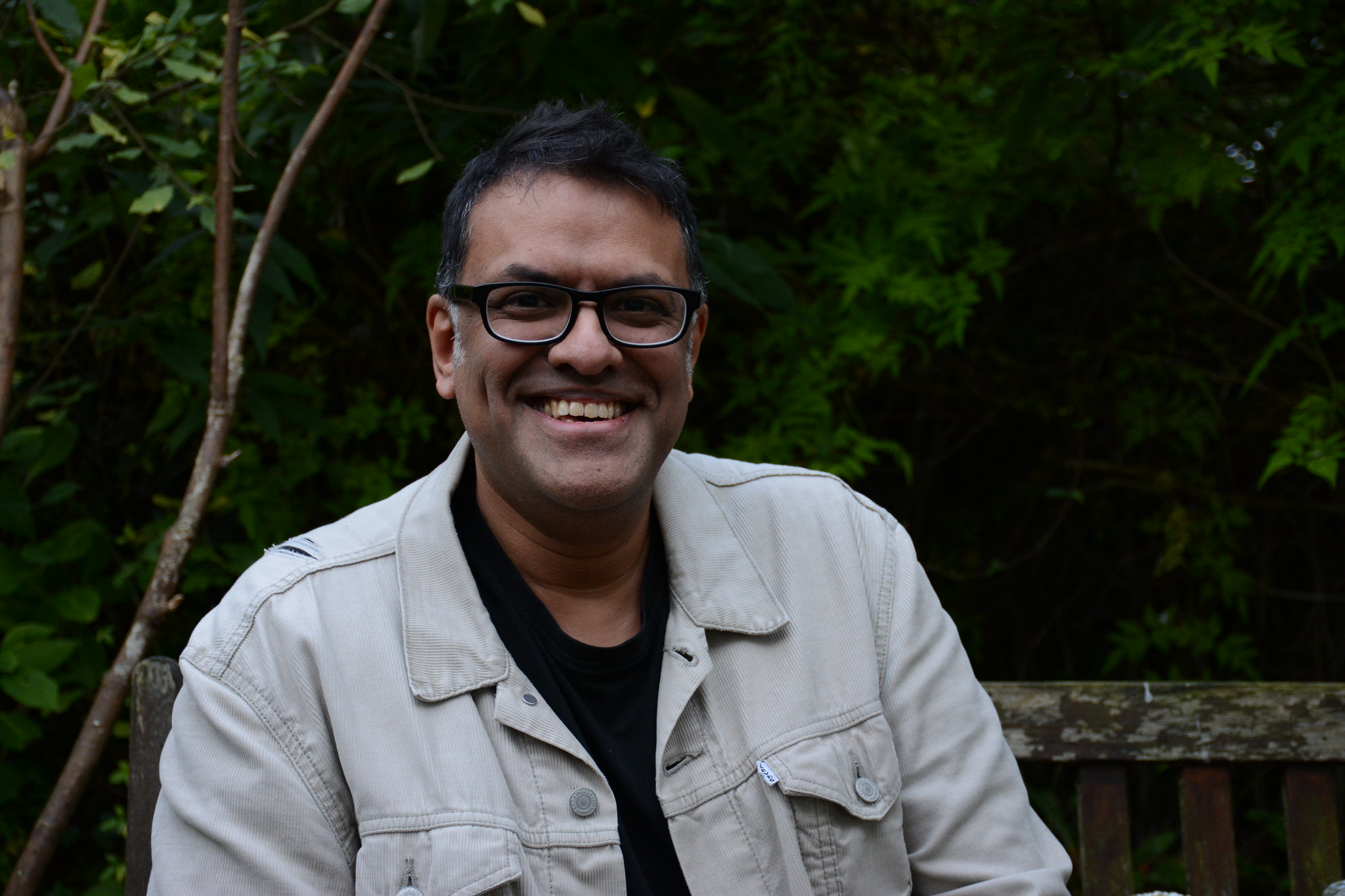 Photograph of Roy Mathur by Rob Storey 2017