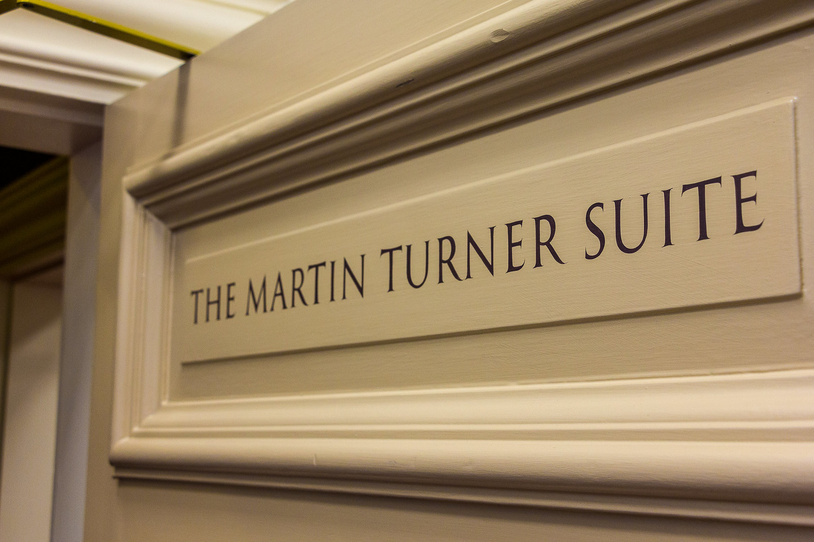 Dedication of the Martin Turner Suite