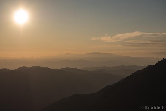 Shinhotaka Ropeway 2017.10.27 (30) distant view of Mount Haku (Haku-san)
