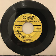 TITO PUENTE:CHA CHA CHA FOR LOVERS(RECORD SIDE-B)