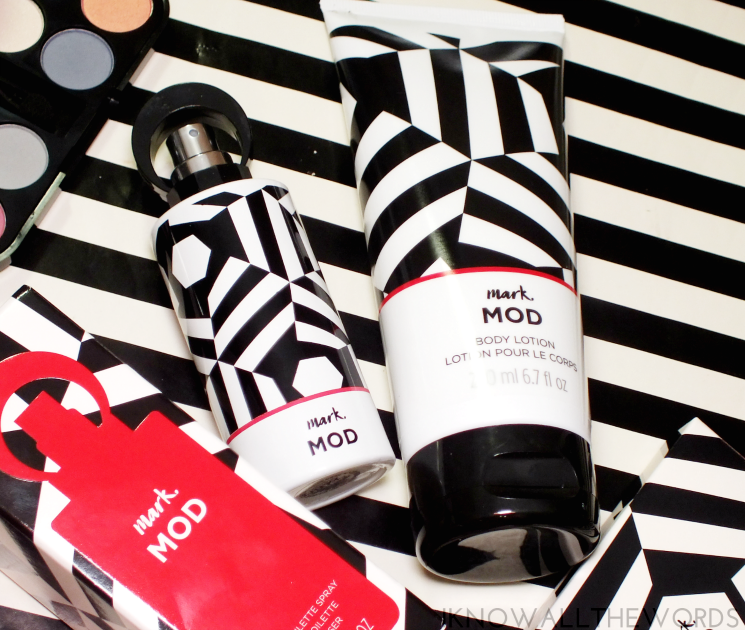 mark mod eau de toilette & body lotion