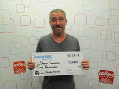 David Sanford - $5,000 - Regal Riches - Nampa - Fred Meyer