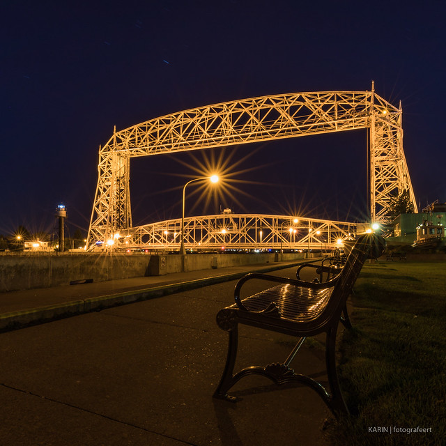Duluth Aerial Lift Bridge!