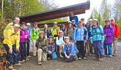 Leaving the West Rattlesnake trailhead