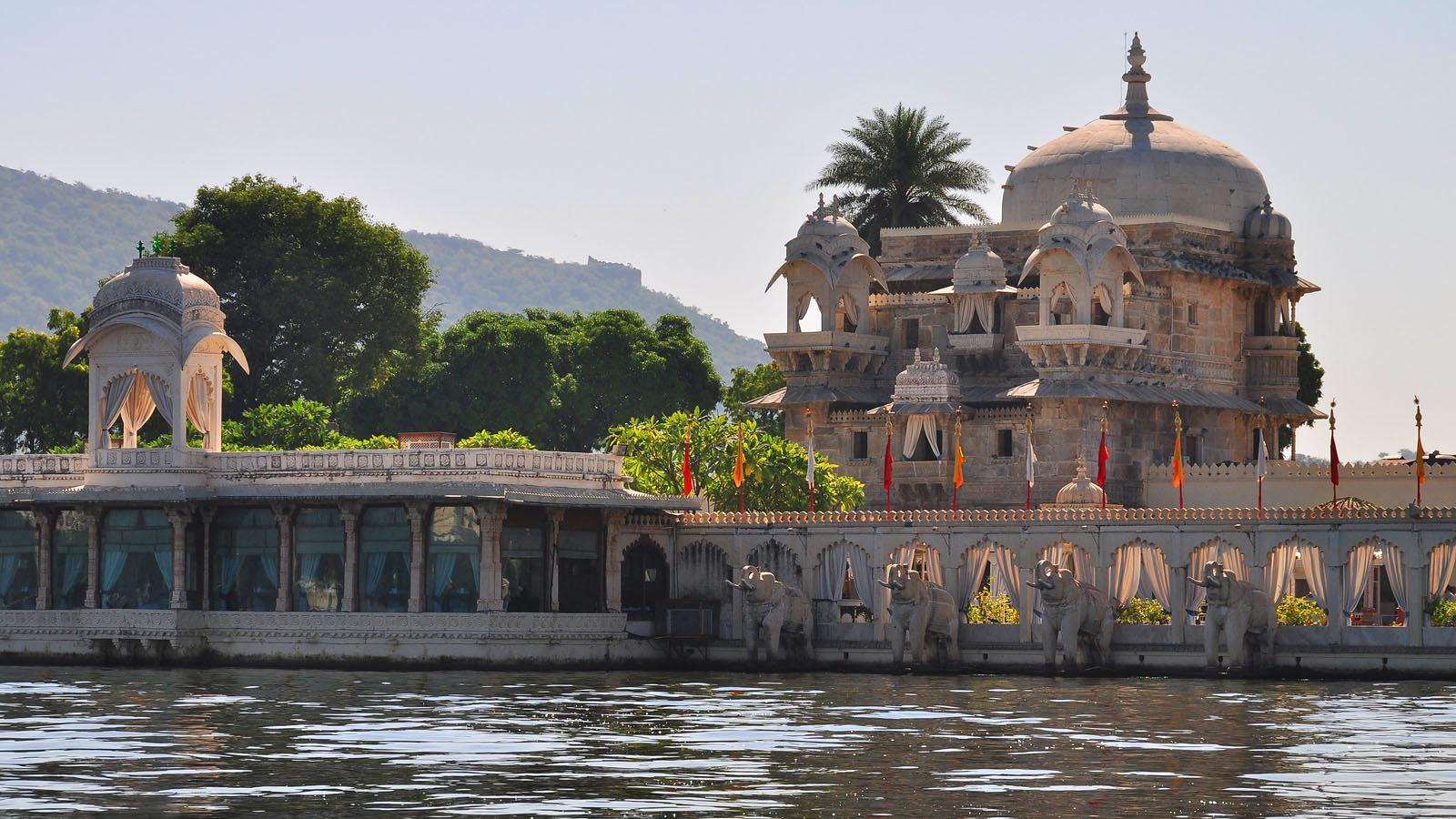 Jag Mandir. Udaipur, Radjasthan, India.