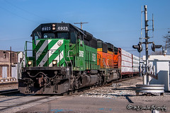 BNSF 6923 | EMD SD40-2 | BNSF Thayer South Subdivision