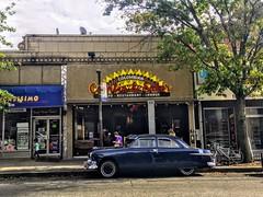 Vintage car Sunnyside Queens NYC