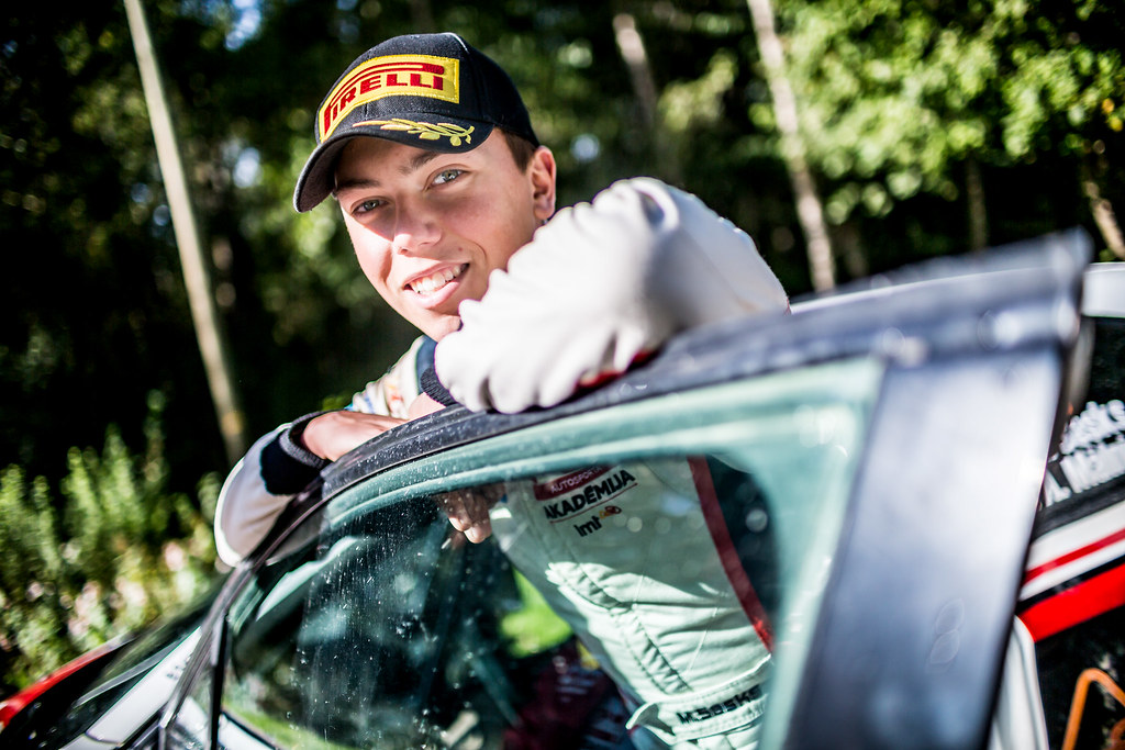 Sesks Martins, LMT Autosporta Akademija, Peugeot 208 R2 ERC Junior U27 ambiance portrait during the 2017 European Rally Championship ERC Liepaja rally,  from october 6 to 8, at Liepaja, Lettonie - Photo Thomas Fenetre / DPPI