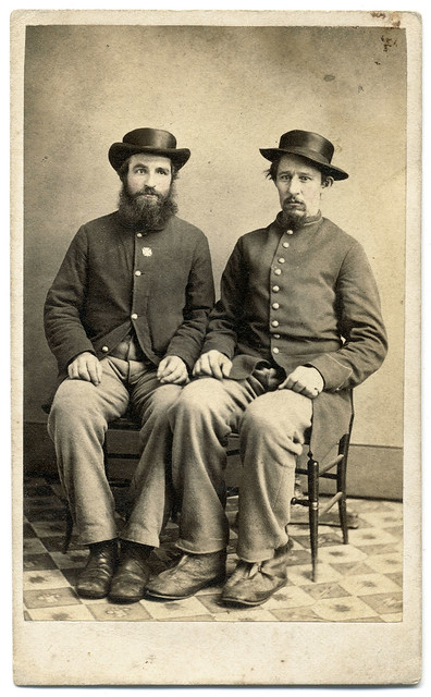 Two Enlisted Men, Different Regiments, Two Battles, Two Wounds, One Hospital