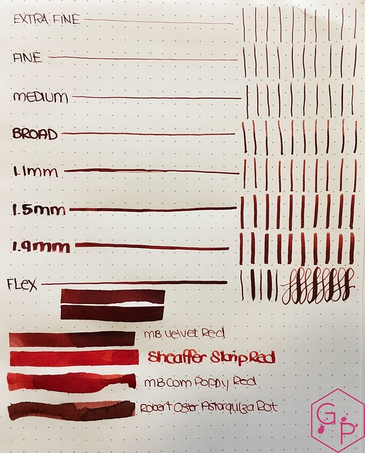 Ink Shot Review @Montblanc_World William Shakespeare Velvet Red @couronneducomte 4